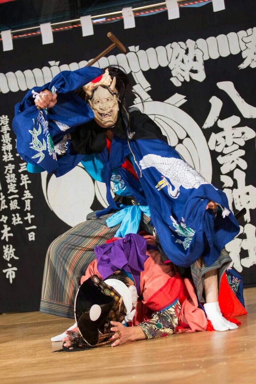 宍戸透高さんの演舞