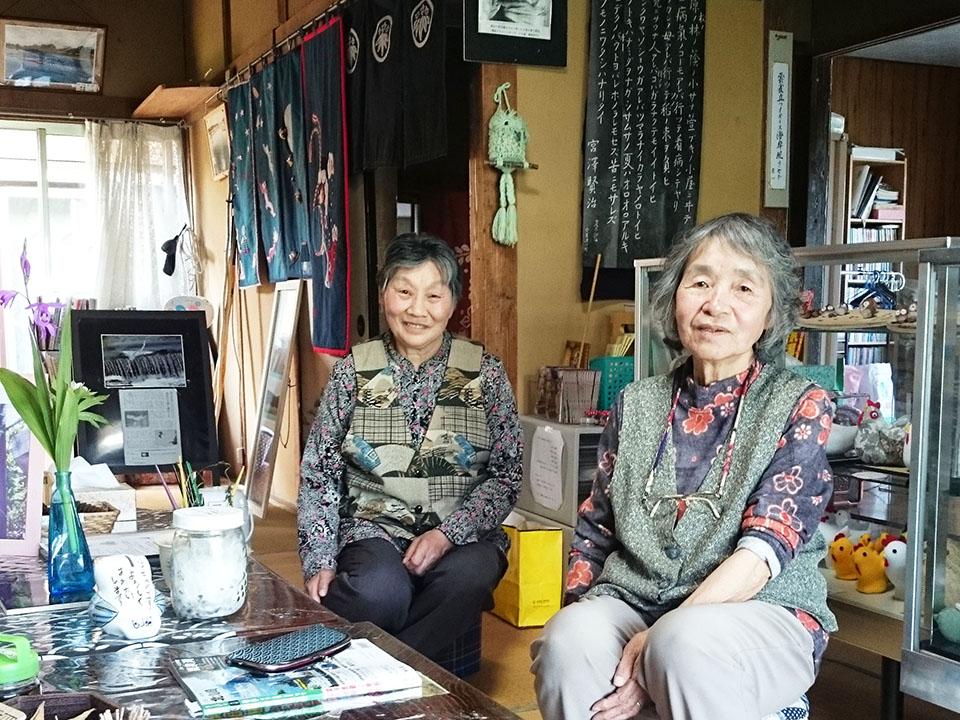 小田島さん(右)と大仁田さん(左)